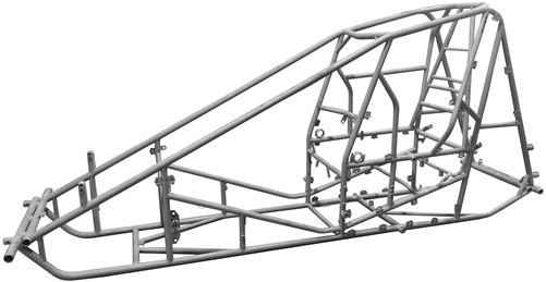 Non Wing Sprint Car Chassis